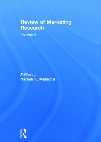 Review of Marketing Research Volume 5 book cover