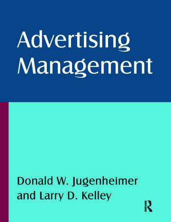 Advertising Management book cover