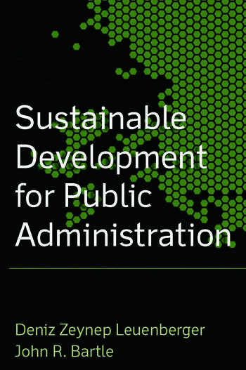 Sustainable Development for Public Administration book cover