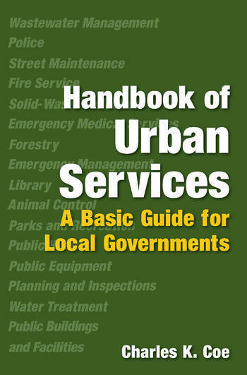 Handbook of Urban Services A Basic Guide for Local Governments book cover