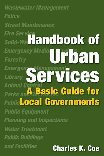 Handbook of Urban Services Basic Guide for Local Governments book cover