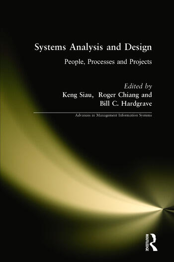 Systems Analysis and Design: People, Processes, and Projects book cover
