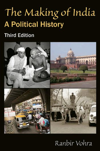 The Making of India A Political History book cover
