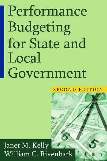 Performance Budgeting for State and Local Government book cover
