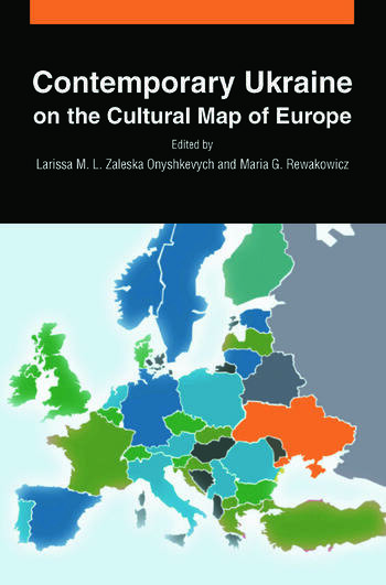 Contemporary Ukraine on the Cultural Map of Europe book cover