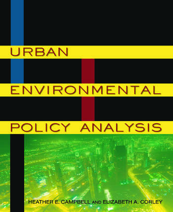Urban Environmental Policy Analysis book cover