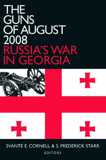 The Guns of August 2008 Russia's War in Georgia book cover