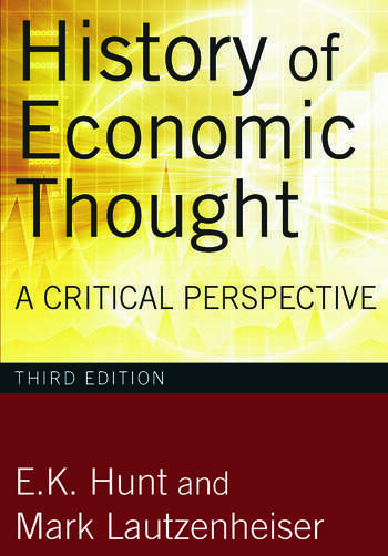 History of Economic Thought A Critical Perspective book cover