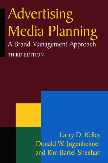 Advertising Media Planning A Brand Management Approach book cover