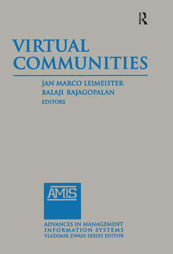 Virtual Communities: 2014 book cover