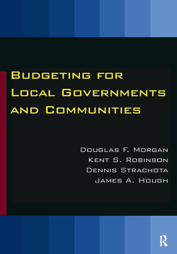 Budgeting for Local Governments and Communities book cover