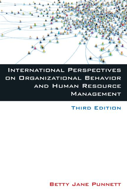 International Perspectives on Organizational Behavior and Human Resource Management book cover