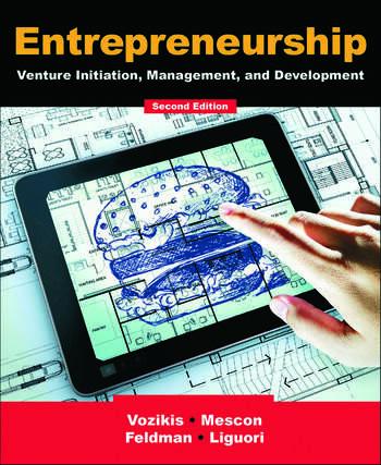 Entrepreneurship Venture Initiation, Management and Development book cover
