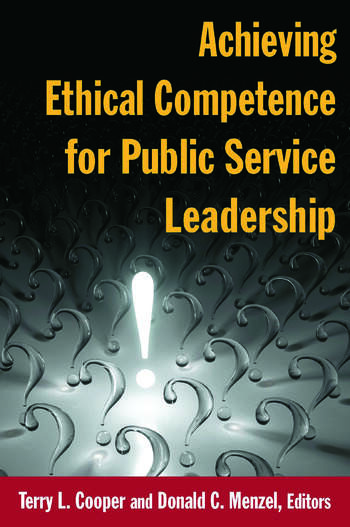 Achieving Ethical Competence for Public Service Leadership book cover