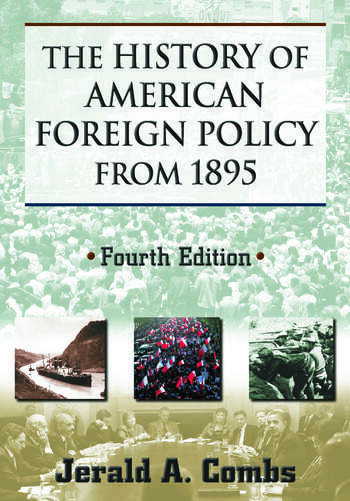 The History of American Foreign Policy from 1895 book cover