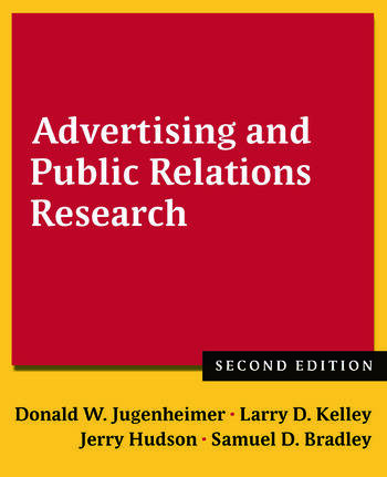 Advertising and Public Relations Research book cover