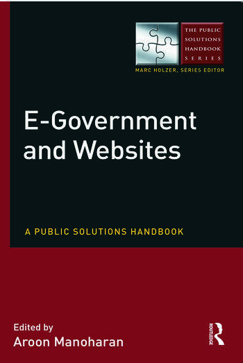 E-Government and Websites A Public Solutions Handbook book cover