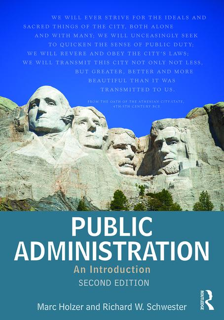 Public Administration An Introduction book cover