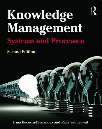 Knowledge Management Systems and Processes book cover