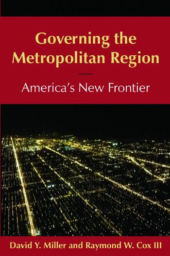 Governing the Metropolitan Region: America's New Frontier: 2014 America's New Frontier book cover
