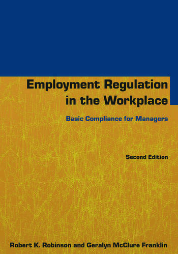Employment Regulation in the Workplace Basic Compliance for Managers book cover