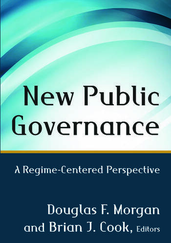 New Public Governance A Regime-Centered Perspective book cover