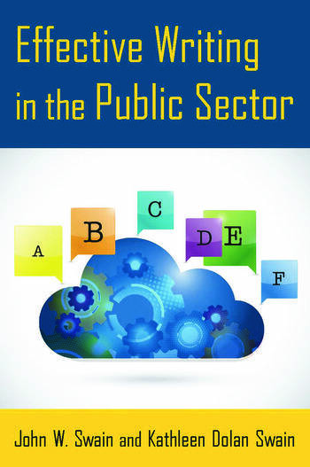 Effective Writing in the Public Sector book cover