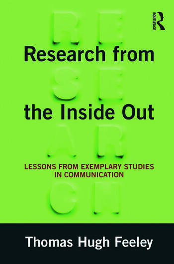 Research from the Inside Out Lessons from Exemplary Studies in Communication book cover