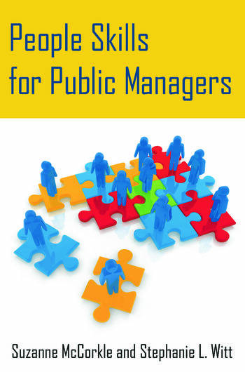People Skills for Public Managers book cover