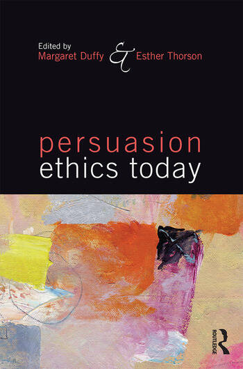 Persuasion Ethics Today book cover