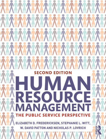 Human Resource Management The Public Service Perspective book cover