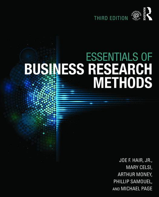 The Essentials of Business Research Methods book cover