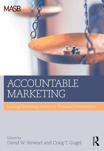 Accountable Marketing Linking marketing actions to financial performance book cover