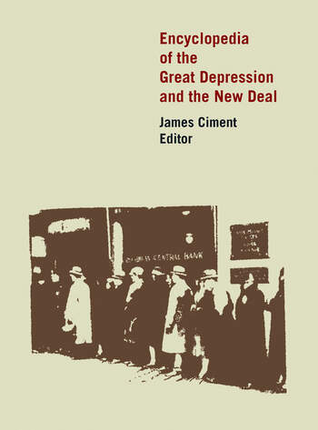 Encyclopedia of the Great Depression and the New Deal book cover