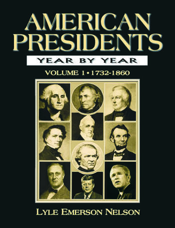 American Presidents Year by Year book cover