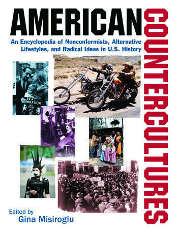 American Countercultures: An Encyclopedia of Nonconformists, Alternative Lifestyles, and Radical Ideas in U.S. History An Encyclopedia of Nonconformists, Alternative Lifestyles, and Radical Ideas in U.S. History book cover
