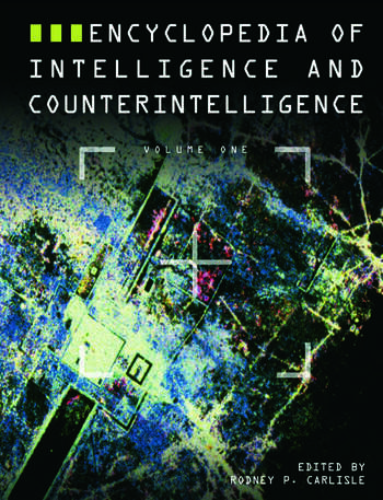 Encyclopedia of Intelligence and Counterintelligence book cover