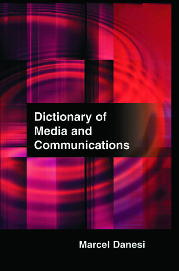 Dictionary of Media and Communications book cover