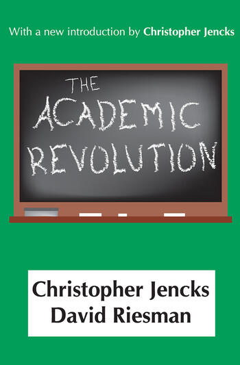 The Academic Revolution book cover