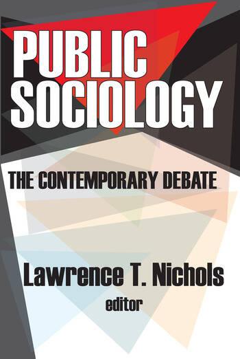 Public Sociology The Contemporary Debate book cover