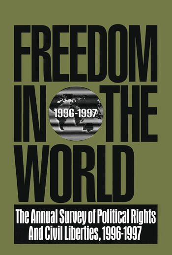 Freedom in the World: 1996-1997 The Annual Survey of Political Rights and Civil Liberties book cover