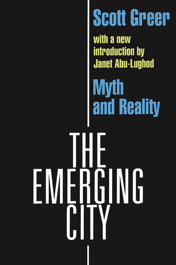 The Emerging City Myth and Reality book cover