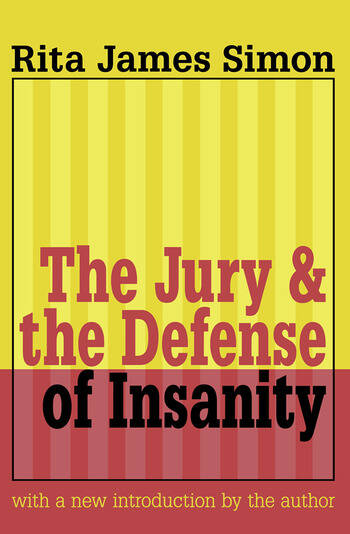 Jury and the Defense of Insanity book cover