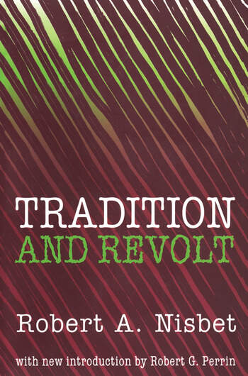 Tradition and Revolt book cover