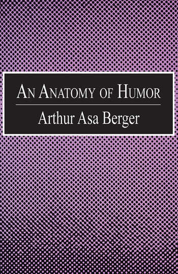 An Anatomy of Humor book cover