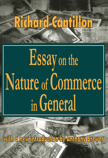 Essay on the Nature of Commerce in General book cover