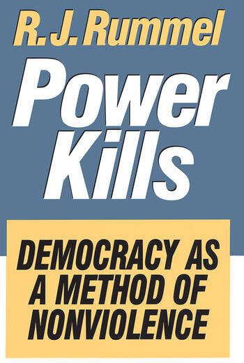 Power Kills Democracy as a Method of Nonviolence book cover