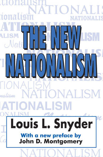 The New Nationalism book cover