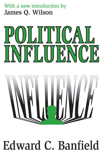 Political Influence book cover