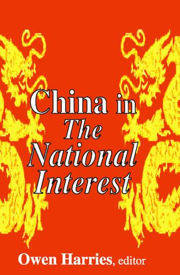China in The National Interest book cover